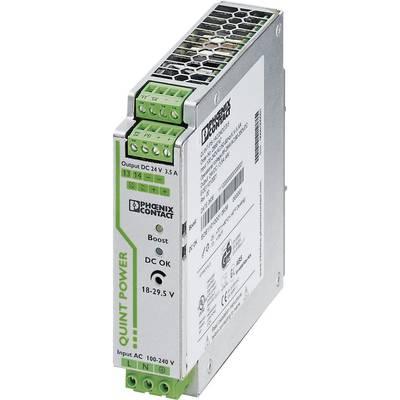 Phoenix Contact QUINT-PS/24DC/24DC/ 5 Rail mounted PSU (DIN) 24 V DC 5 A 1 x