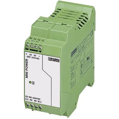 Phoenix Contact MINI-PS-100-240AC/2X15DC/1 Rail mounted PSU (DIN) 15 V DC, -15 V DC 1 A 15 W 2 x