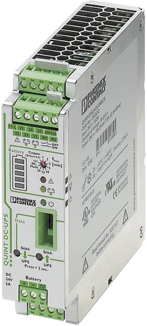 Rail-mount UPS (DIN) Phoenix Contact QUINT-UPS/ 24DC/ 24DC