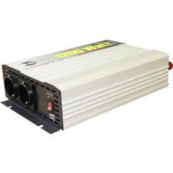 Razsmernik e-ast HPL 1200-D-12 1200 W 12 V/DC 12 V/DC (11 - 15 V) vijačne objemke, varnostna vtičnica, evro vtičnica