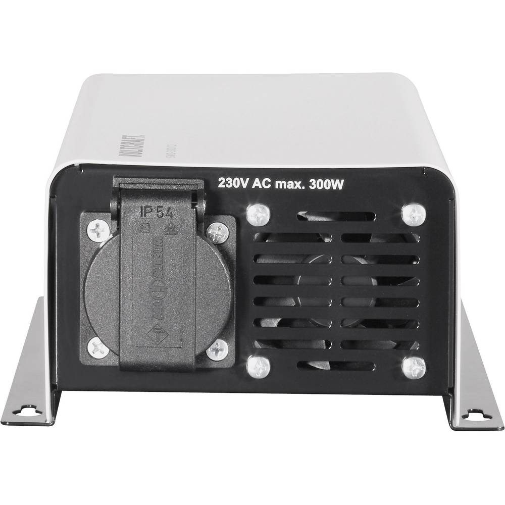 Inverter VOLTCRAFT SWD-300/24 300 W 24 V/DC 24 V/DC Kan fjernbetjenes Skrueklemmer Jordstik