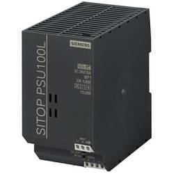 Strømforsyning til DIN-skinne (DIN-rail) Siemens SITOP PSU100L 24 V/10 A 26.4 V/DC 10 A 240 W 1 x