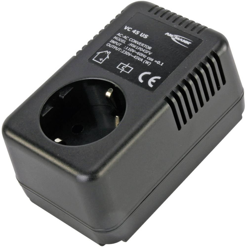 Ansmann VC 45 Voltage converters 220 - 240 Vac 100 - 120 Vac from ...