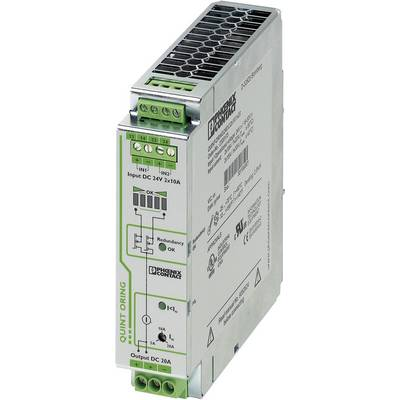 Phoenix Contact 2320173 Rail mounted redundancy (DIN) 20 A No. of outputs: 1 x
