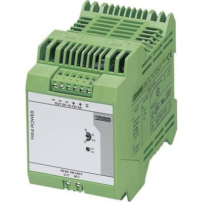 Phoenix Contact MINI-PS-100-240AC/10-15DC/8 Rail mounted PSU (DIN) 8 A 96 W 1 x