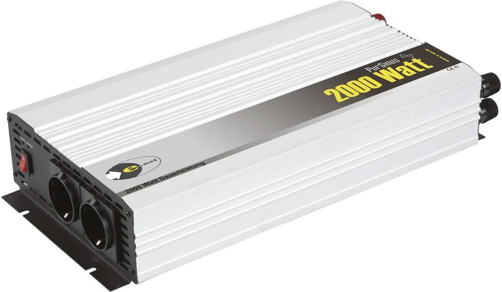 Inverter e-ast HPL 2000-12 2000 W 12 V/DC 12 V/DC (11-15 V) Skrueklemmer