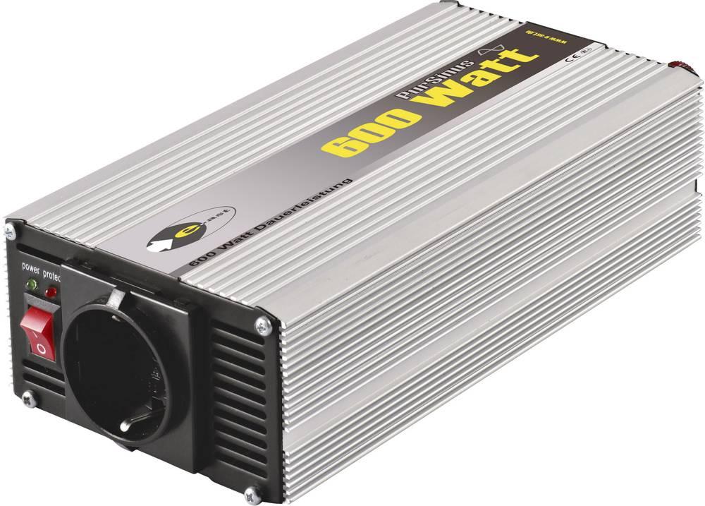 Izmjenjivač e-ast CLS 600-24 600 W 24 V/DC 24 V/DC (22 - 28 V) vijčana spojka, utičnica sa zaštitom od prenapona