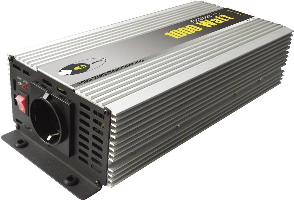 Inverter e-ast HighPowerSinus HPLS 1000-12 1000 W 12 V/DC 12 V/DC (11-15 V) Skrueklemmer