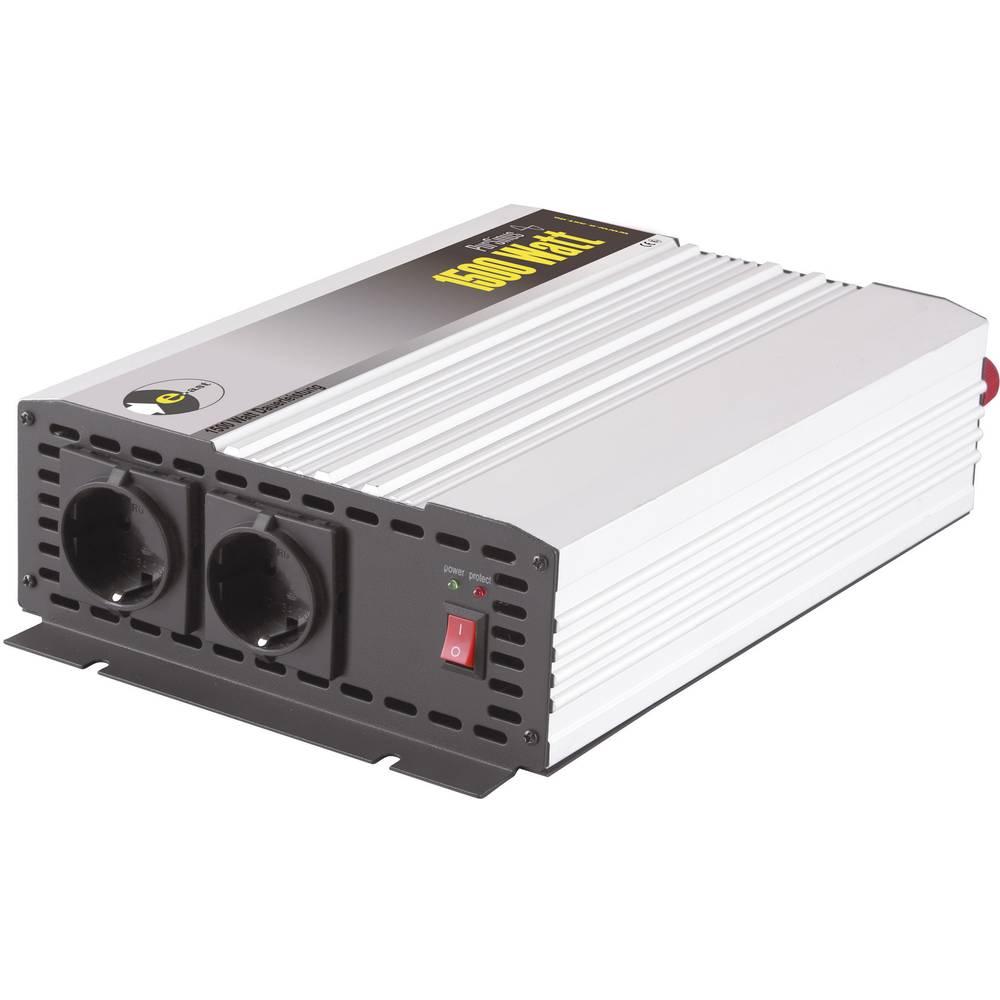 Izmjenjivač e-ast HighPowerSinus HPLS 1500-12 1500 W 12 V/DC 12 V/DC (11 - 15 V) utičnica sa zaštitom od prenapona