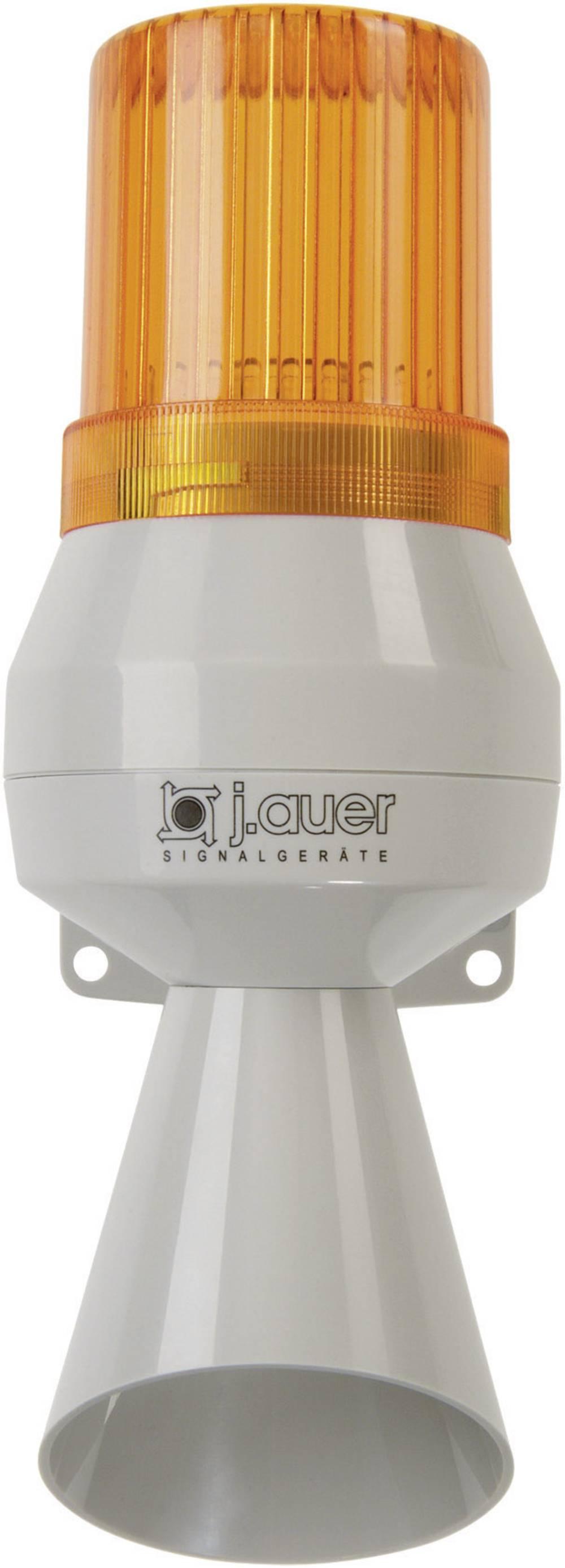 Kombinirani oddajnik signala Auer Signalgeräte KLL oranžna neprekinjena luč, neprekinjen ton 24 V/DC