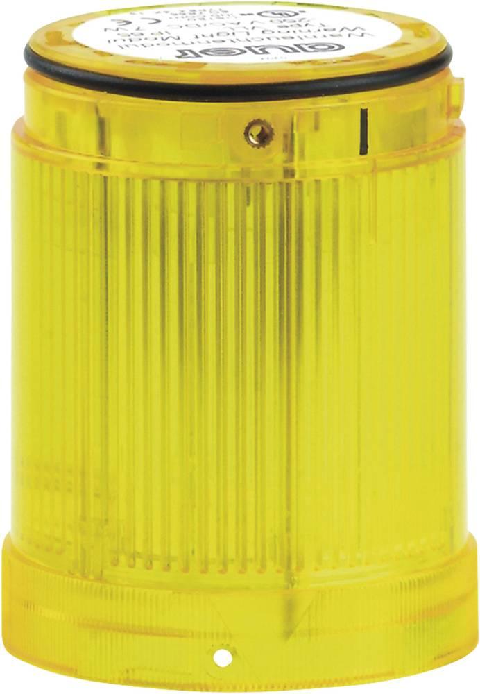 Signalni svetlobni modul LED Auer Signalgeräte VDC rumena neprekinjena luč 12 V/DC, 12 V/AC, 24 V/DC, 24 V/AC