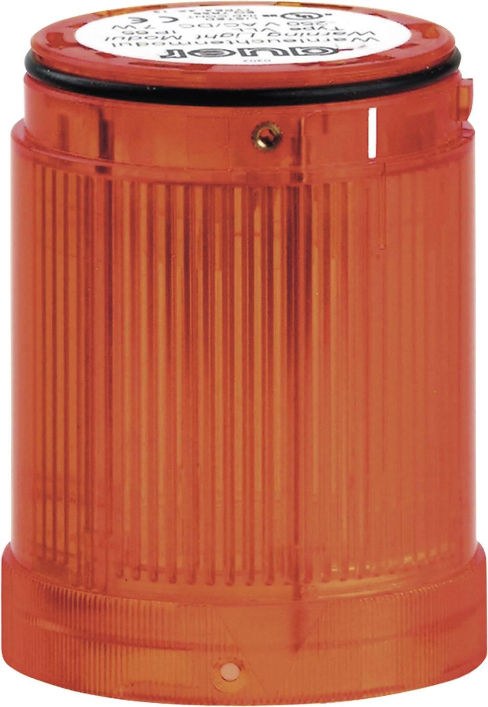 Signalni svetlobni modul Auer Signalgeräte VLB oranžna utripajoča luč 12 V/DC, 12 V/AC, 24 V/DC, 24 V/AC