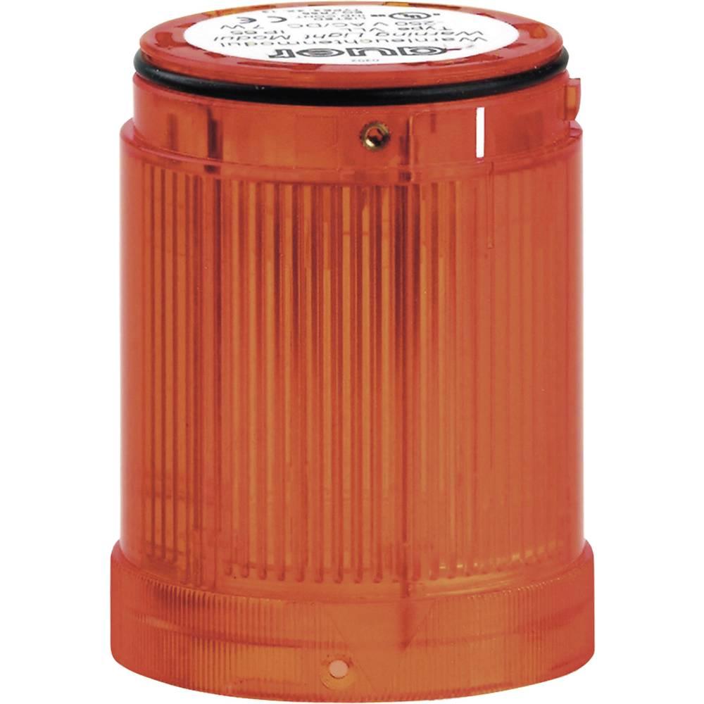 Signalni svetlobni modul LED Auer Signalgeräte VDA oranžna utripajoča luč 12 V/DC, 12 V/AC, 24 V/DC, 24 V/AC