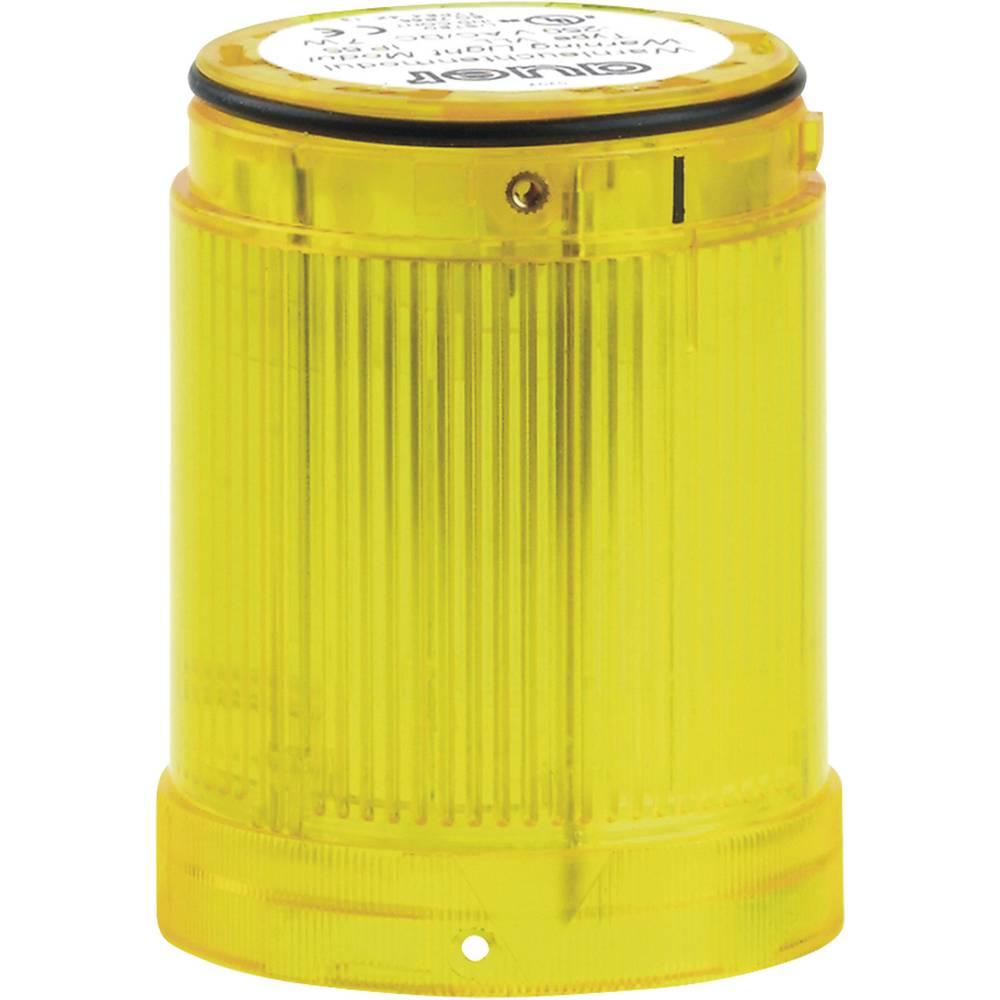 Signalni svetlobni modul LED Auer Signalgeräte VDA rumena utripajoča luč 12 V/DC, 12 V/AC, 24 V/DC, 24 V/AC