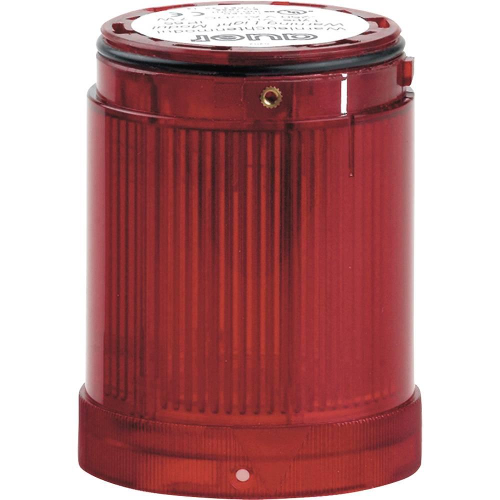 Signalni svetlobni modul LED Auer Signalgeräte VDF rdeča bliskavica 12 V/DC, 12 V/AC, 24 V/DC, 24 V/AC