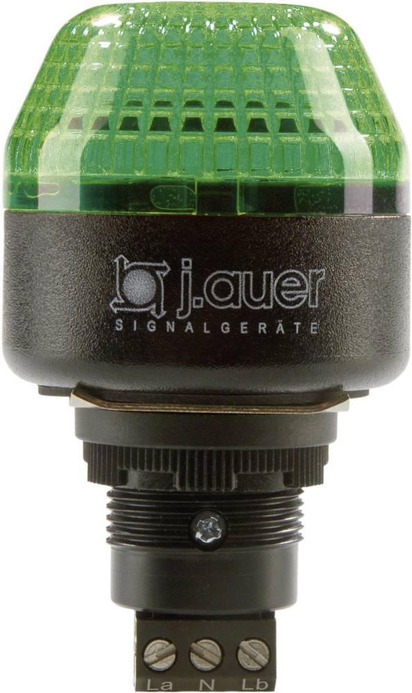 Signalna luč LED Auer Signalgeräte IBM zelena neprekinjena luč, utripajoča luč 24 V/DC, 24 V/AC