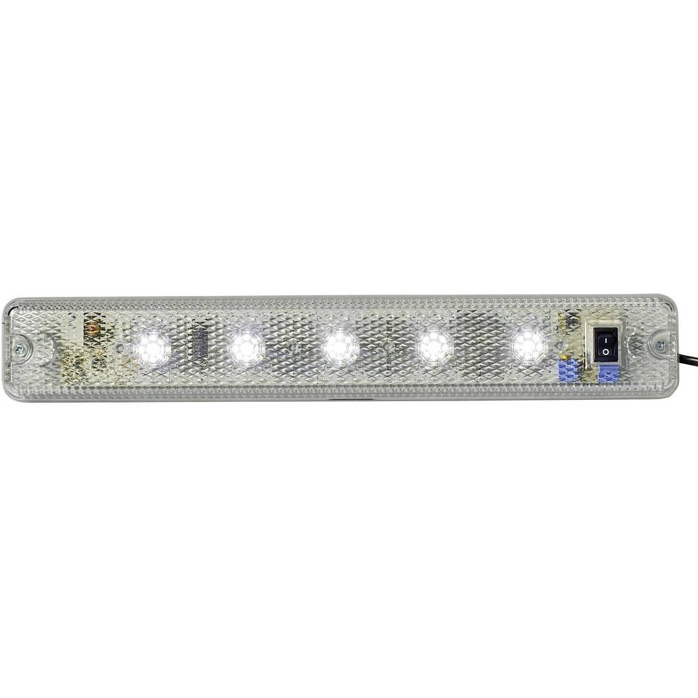 Signalna luč LED Auer Signalgeräte ILL jasna bela neprekinjena luč 110 V/AC, 230 V/AC