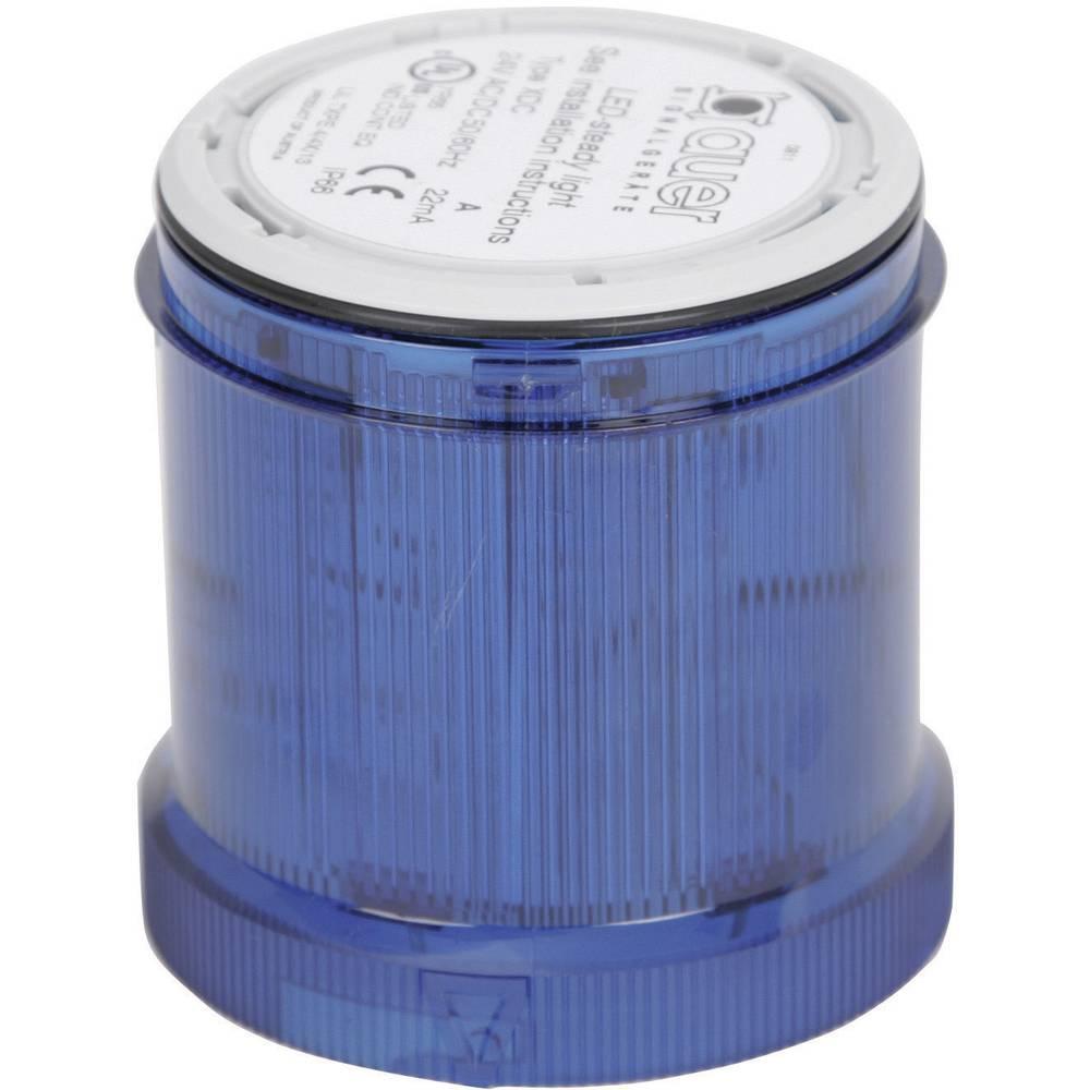 Signalni svetlobni modul Auer Signalgeräte XLL modra neprekinjena luč 12 V/DC, 12 V/AC, 24 V/DC, 24 V/AC, 48 V/DC, 48 V/AC, 110