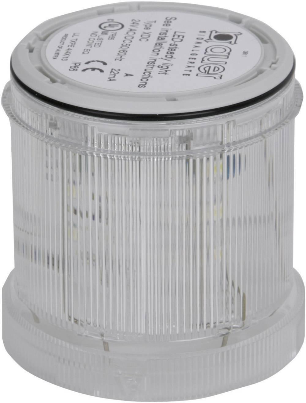 Signalni svetlobni modul Auer Signalgeräte XDC jasna neprekinjena luč 24 V/DC, 24 V/AC