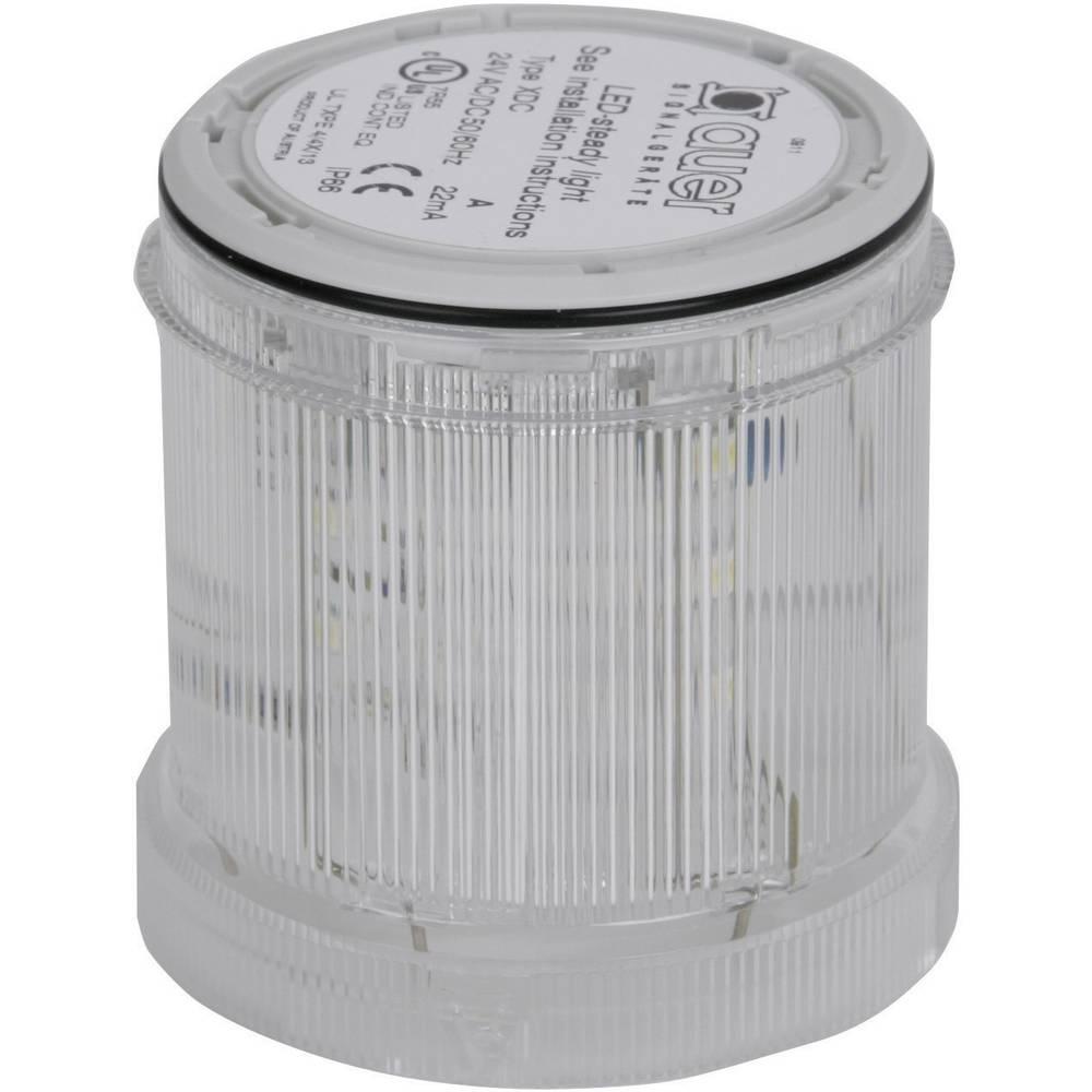Signalni svetlobni modul Auer Signalgeräte XDC jasna neprekinjena luč 230 V/AC