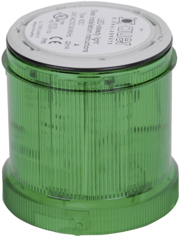 Signalni svetlobni modul Auer Signalgeräte XDC zelena neprekinjena luč 24 V/DC, 24 V/AC