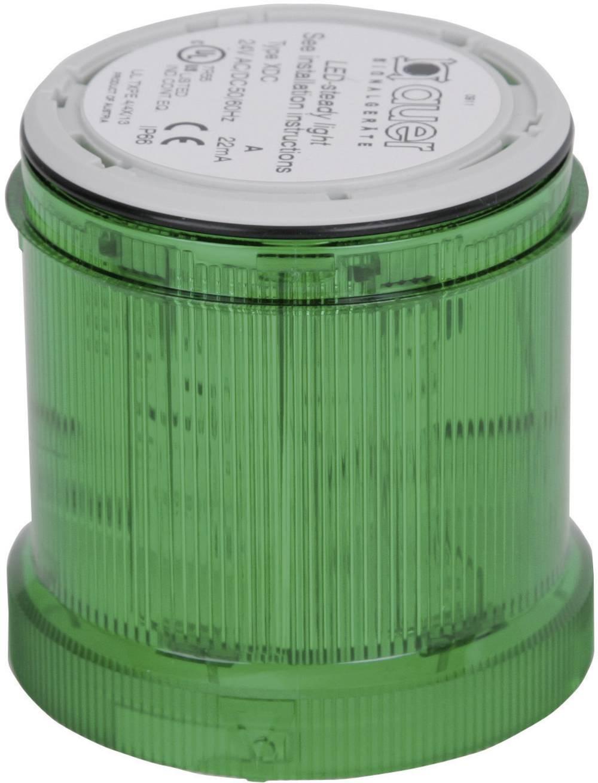 Signalni svetlobni modul Auer Signalgeräte XDC-HP zelena neprekinjena luč 24 V/DC, 24 V/AC