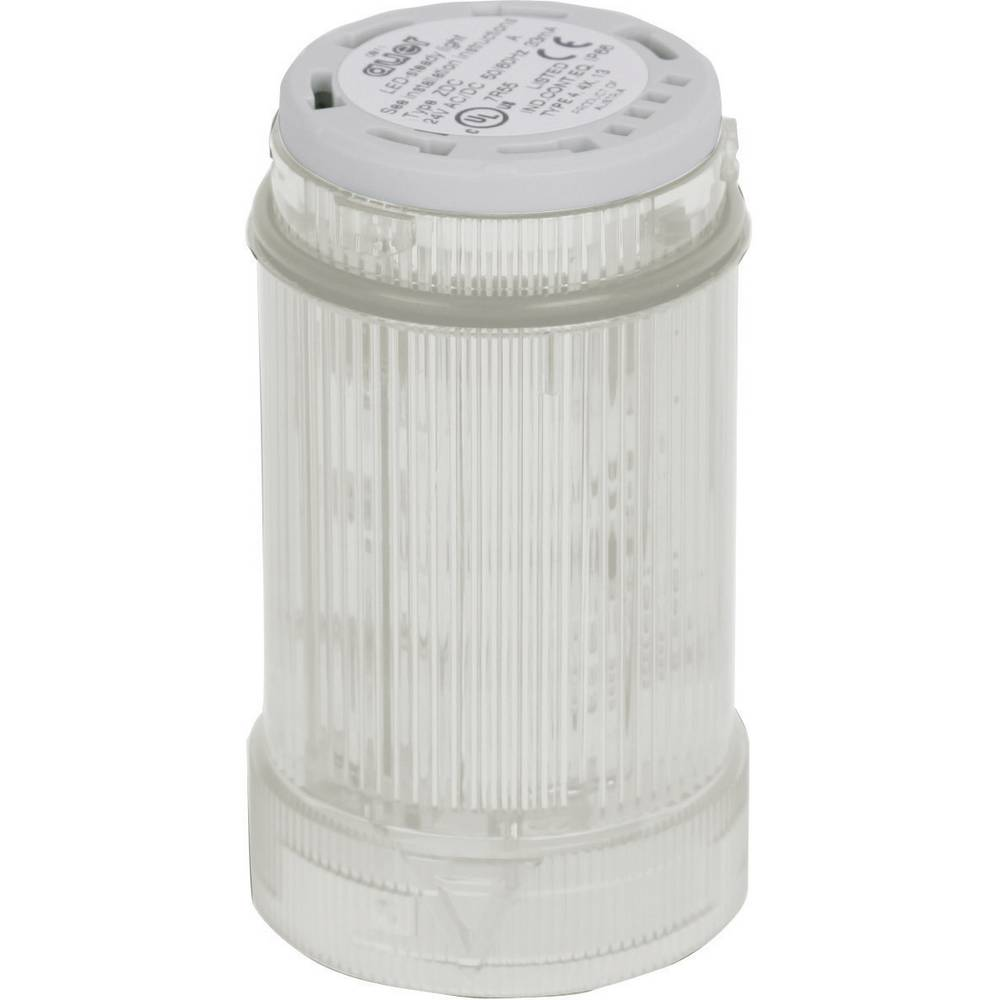 Signalni svetlobni modul Auer Signalgeräte ZDC bela neprekinjena luč 230 V/AC