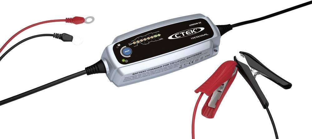 Avtomatski polnilnik CTEK Lithium XS