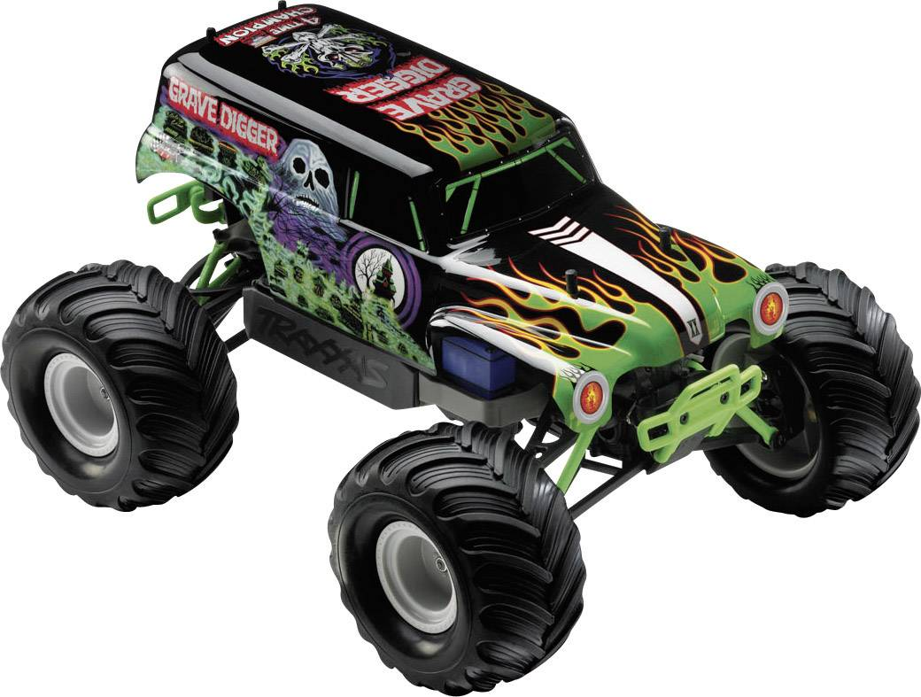 Traxxas Grave Digger Brushed 1:16 RC model car Electric