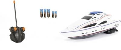Image of Dickie Toys RC model speedboat for beginners 100% RtR 340 mm