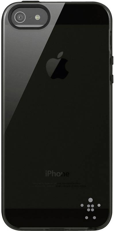 Image of Belkin Grip Sheer TPU iPhone back cover Compatible with (mobile phones): Apple iPhone 5, Apple iPhone 5S, Apple iPhone S