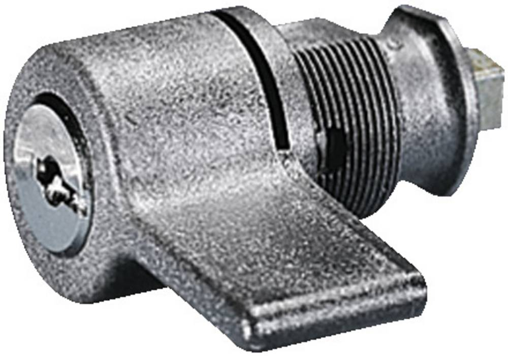 Håndtag Rittal KS 1484.000 med sikkerhedscylinder-indsats Grå 1 stk