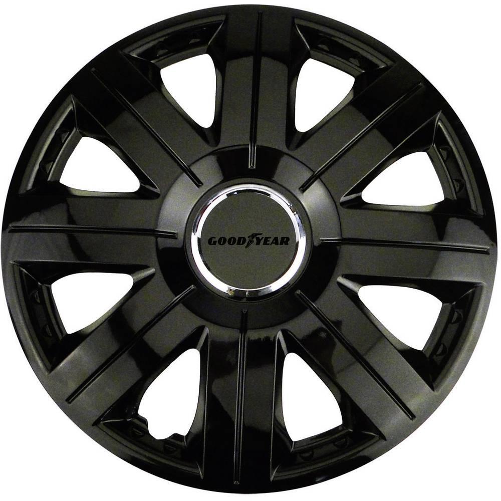hjulkapsler Goodyear Flexo R14 Sort 4 stk