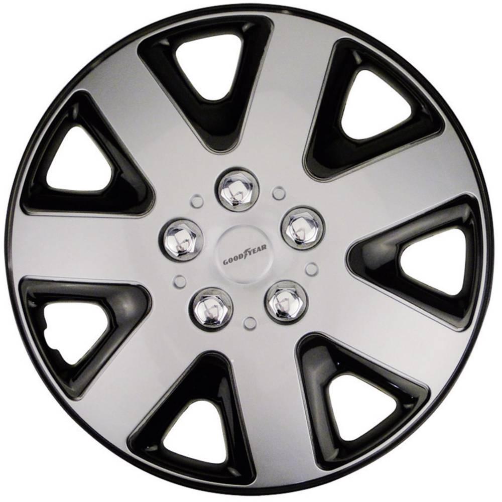 Hjulkapsler Goodyear Flexo R15 Sølv 4 stk
