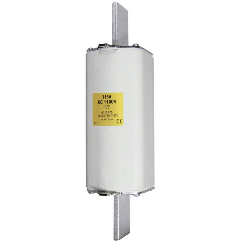 Nizkonapetostna močnostna varovalka TIPA 1C, 1100 V DC, 80 A NH 1C 1100V DC 80A ESKA