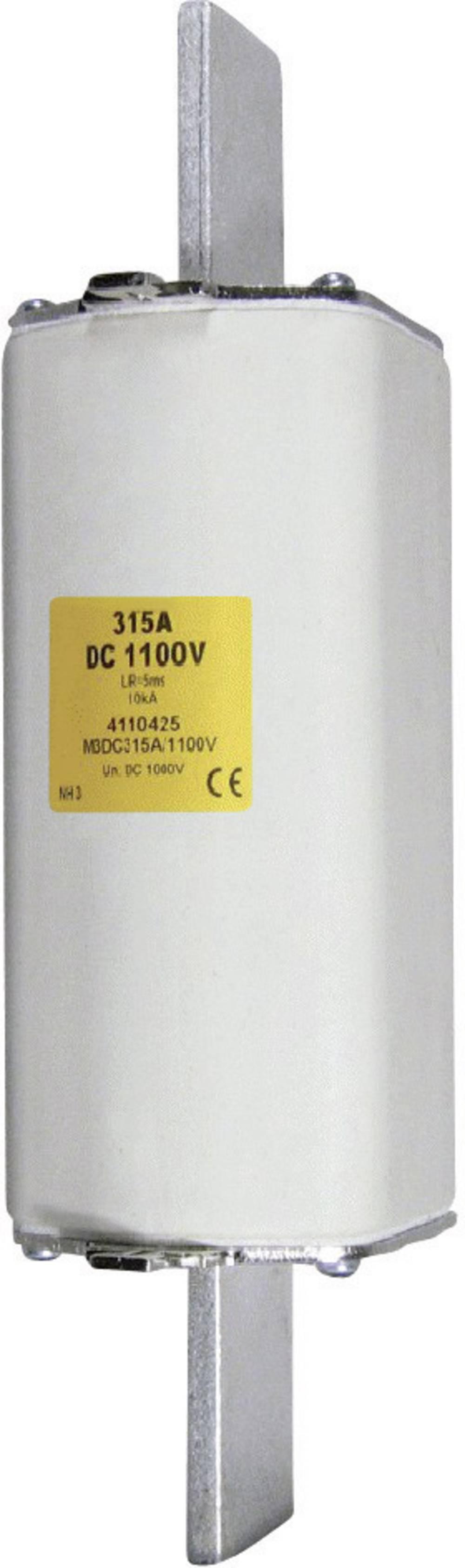 Nizkonapetostna močnostna varovalka TIPA 1, 1100 V DC, 125 A, TRIP NH 1 DC 1100V 125A Trip K. ESKA