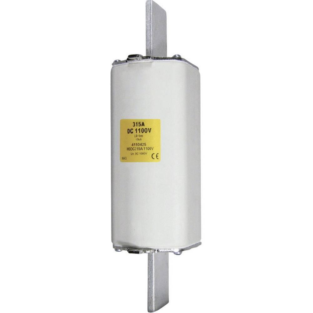 NH-sikring Sikringsstørrelse = 1 160 A 1100 V/DC ESKA NH 1 DC 1100V 160A Trip K.