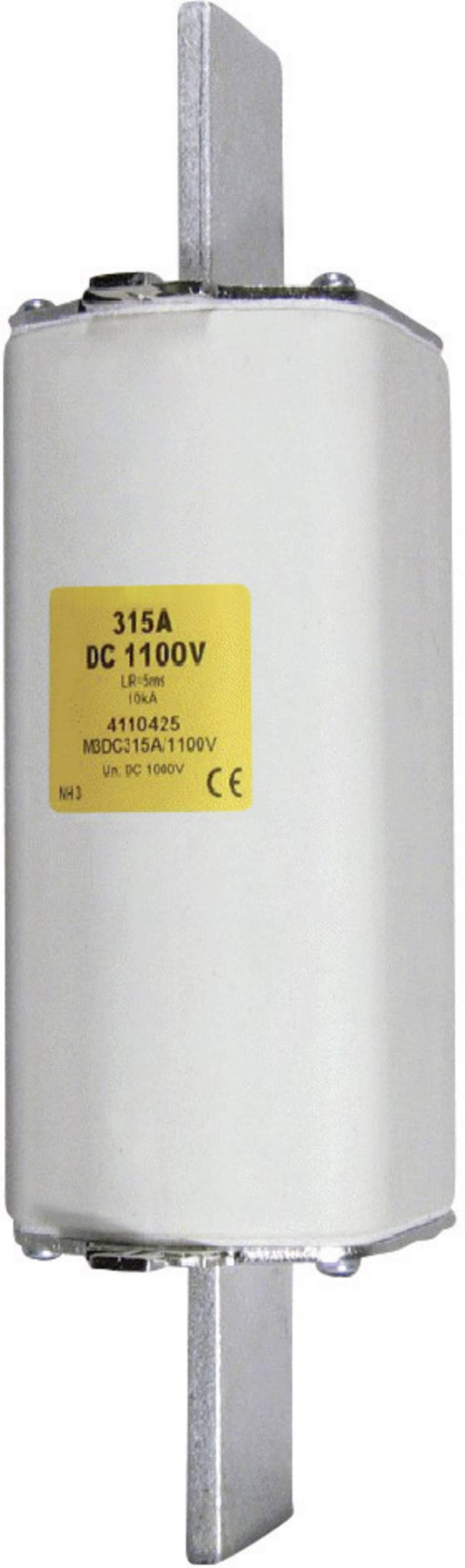 NH-sikring Sikringsstørrelse = 1 63 A 1100 V/DC ESKA NH 1 DC 1100V 63A Schraubkontakt