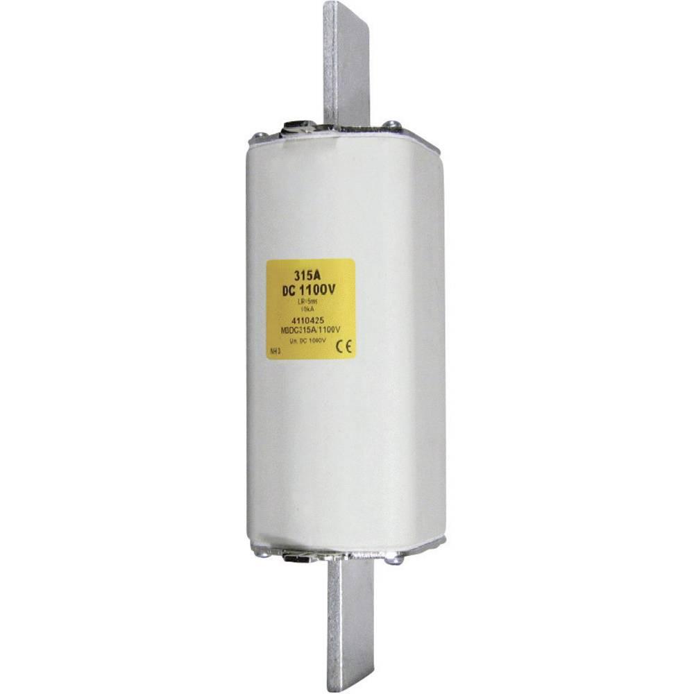 NH-sikring Sikringsstørrelse = 1 125 A 1100 V/DC ESKA NH 1 DC 1100V 125A Schraubkontakt