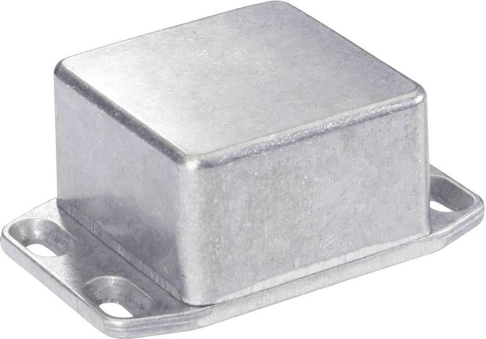 Hammond Electronics 1590AFL-Kućište s prirubnicom, tlačna litina aluminija, 93x39x31mm