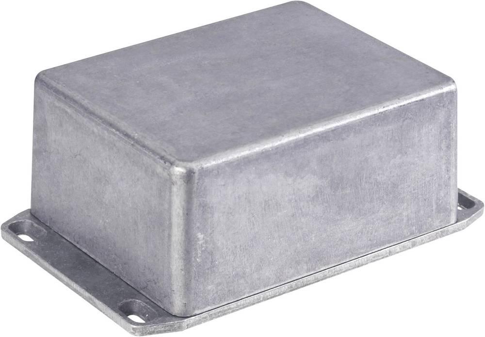 Universalkabinet 120 x 120 x 32 Aluminium Trykstøbt Sort Hammond Electronics 1590QFLBK 1 stk