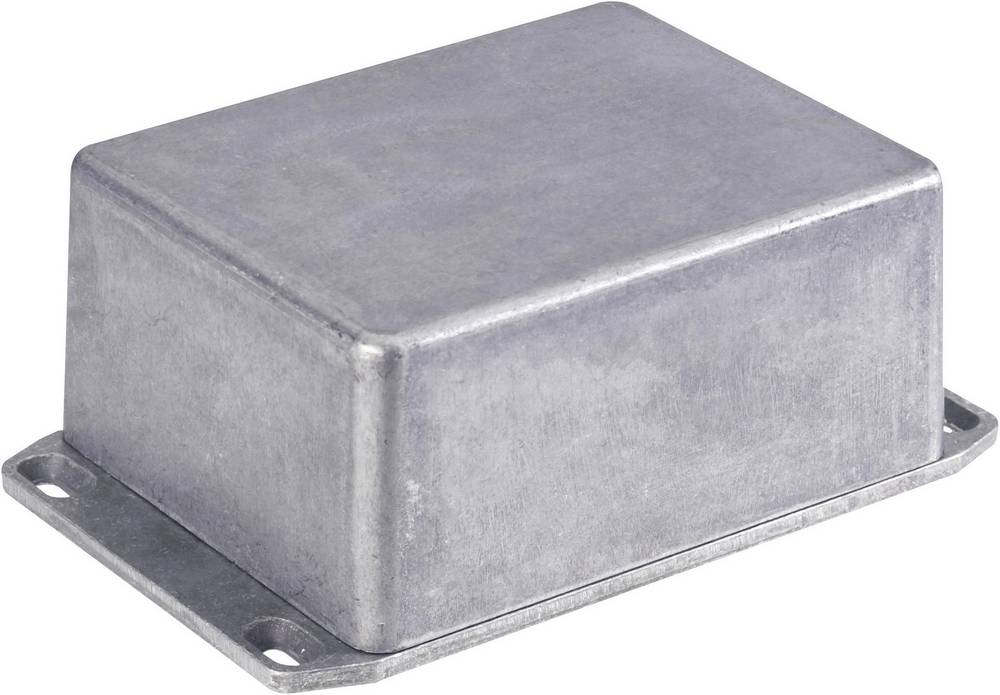 Universalkabinet 153 x 82 x 50 Aluminium Trykstøbt Sort Hammond Electronics 1590WP1FLBK 1 stk