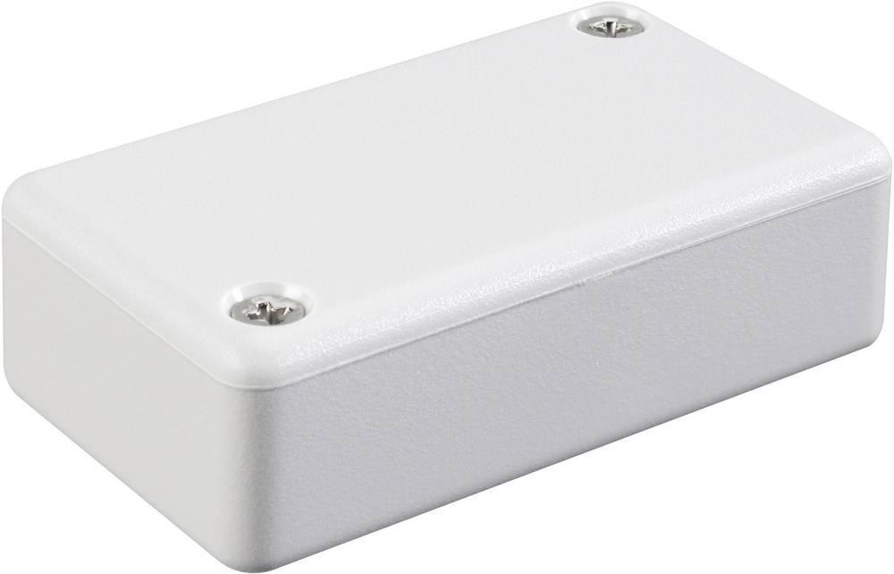 Hammond Electronics 1551LGY-Euro kućište, ABS, svijetlo sivo (RAL 7035), 80x40x15mm