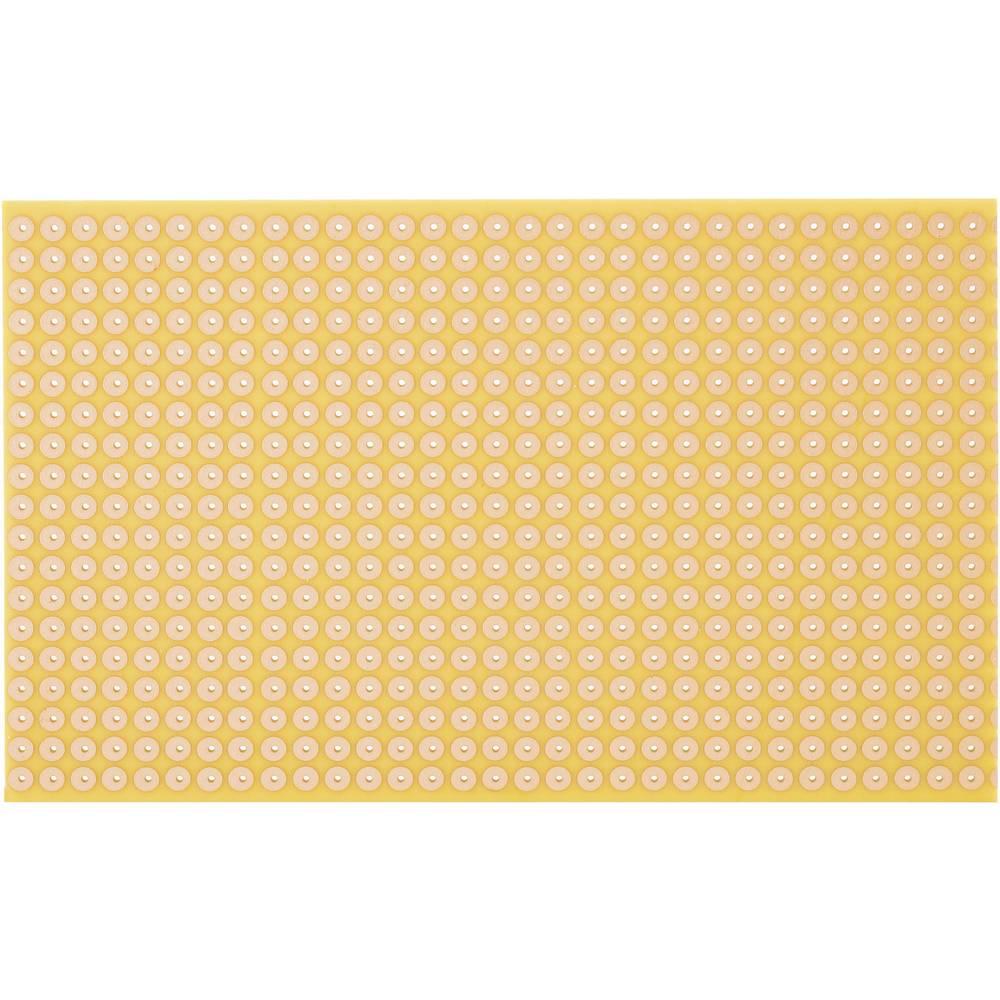 Printplade Hårdt papir (L x B) 160 mm x 100 mm 35 µm Rastermål 5.08 mm WR Rademacher WR-Typ 810-5 Indhold 1 stk