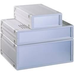 Bopla UM32009L+2X FP30009-Stolno kućište, ABS svijetlo sivo 157.5x62.2x199mm