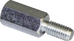 Afstandsbolte (L) 40 mm M5 x 11 M5 x 10 Stål verzinkt PB Fastener S48050X40 10 stk
