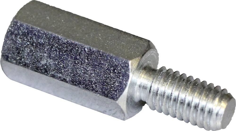 Afstandsbolte (L) 45 mm M4x9 M4x8 Stål verzinkt PB Fastener S47040X45 10 stk