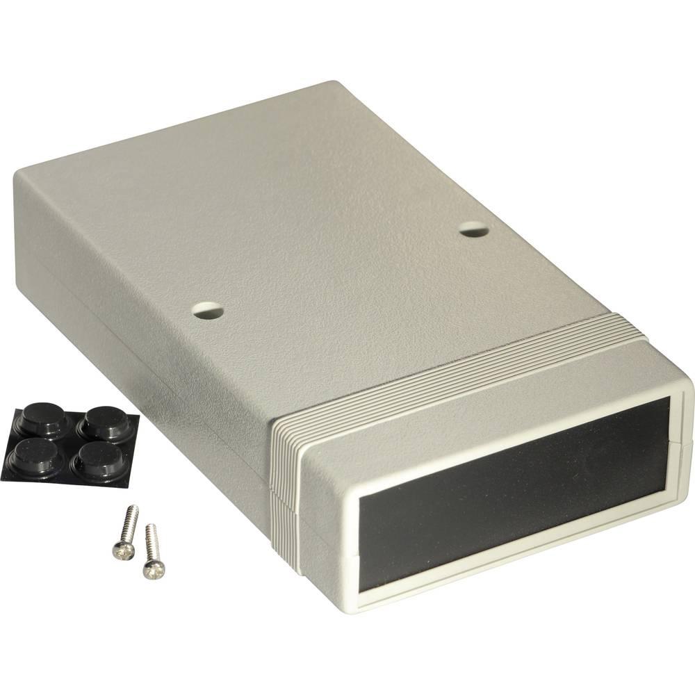 Instrumentkabinet 157 x 94 x 36 Polystyren Grå Hammond Electronics 1598ASGYPBK 1 stk