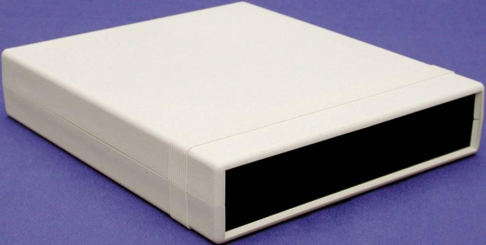 Instrumentkabinet 280 x 200 x 76 Polystyren Sort Hammond Electronics 1598JBK 1 stk