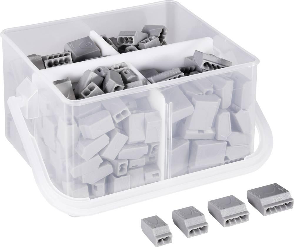 Sponke - izbor 0,25 - 2,5mm 245 kosov siva